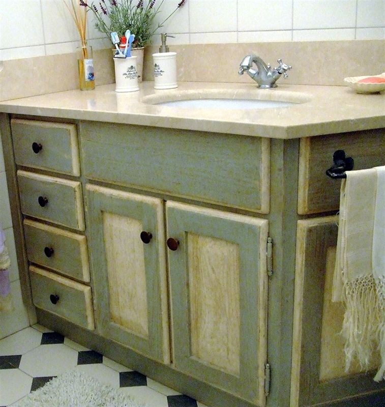 Bagni art e arredo country for Arredare in stile country