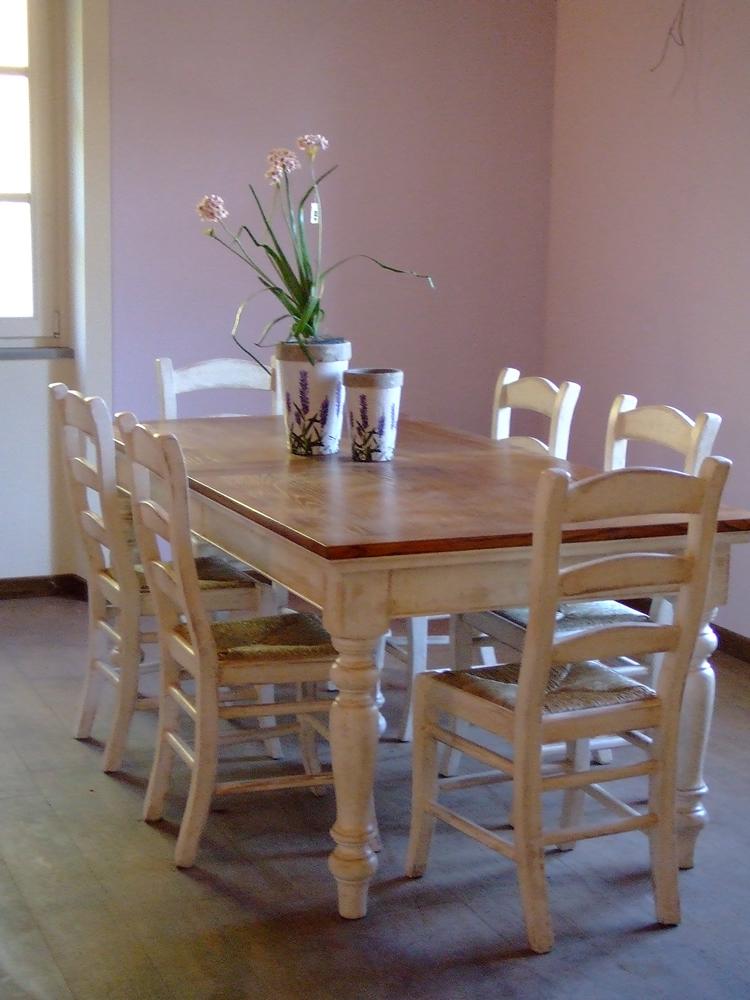 Tavoli e sedie art e arredo country for Sedie e tavoli