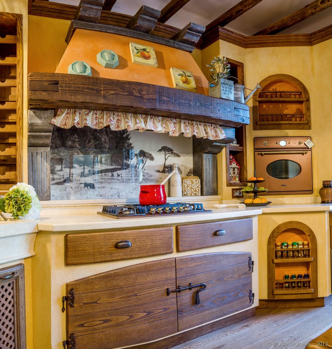 Cucine country e arredo taverna quotes - Cucina in muratura country ...